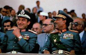 Egyptian President Anwar Sadat Moments Before His Assassination