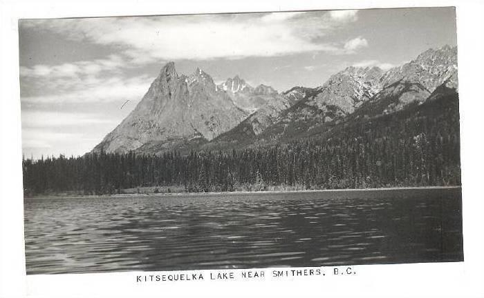 RP, Kitsequelka Lake Near Smithers, British Columbia, Canada, 1930-1950s