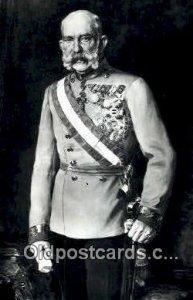 Kaiser Franz Joseph I British Royalty Unused