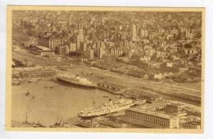 Vista parcial del Puerto y de la Ciudad de Bs. As., 20-40s
