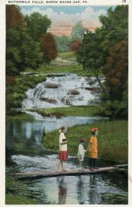 PA - Delaware Water Gap, Buttermilk Falls