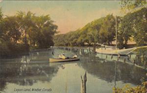 WINDSOR , Ontario , Canada , PU-1911 ; Lagoon Canal