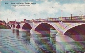 Kansas Topeka Melan Arch Bridge 1911
