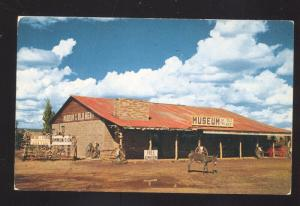 SELIGMAN ARIZONA ROUTE 66 MUSEUM OF THE OLD WEST OLD ADVERTISING POSTCARD