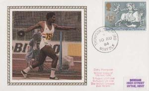 Daley Thompson Olympic Games Athletics Winning Times Rare Benham First Day Cover