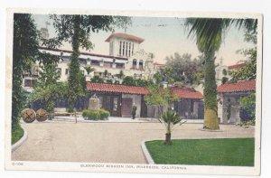 CA Riverside Glenwood Spanish Mission Inn The Court Vintage Postcard