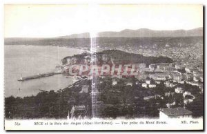 Postcard Old Nice and the Baie des Anges View from Mont Boron Jack