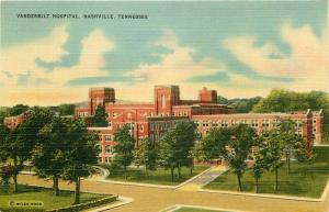 TN, Nashville, Tennessee, Vanderbilt Hospital, Coloorpicture No. 15375