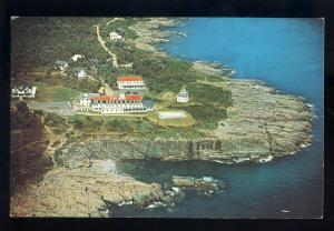 Ogunquit, Maine/ME Postcard, Aerial View Of Cliff House & Bald Head Cliffs