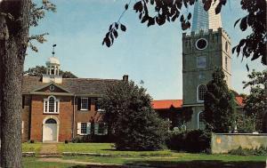 New Castle Delaware~Immanuel Protestant Episcopal Church~Cemetery~1950s PC