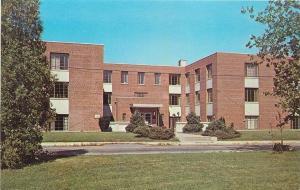 Huntington Indiana~Huntington College~Wright Hall Dormitory~Dining~1960s PC
