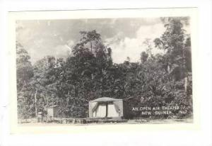 RP New Guinea, WWII, An Open air theatre