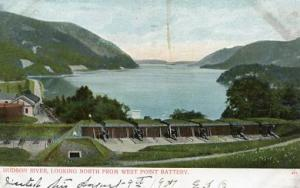 NY - West Point. Hudson River looking North