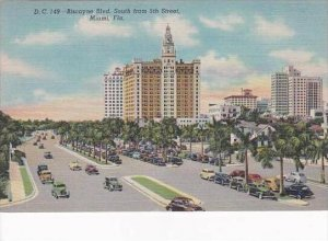 Florida Miami Biscayne Boulevard South From 5th Street