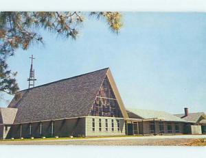 Pre-1980 CHURCH SCENE Harrington Delaware DE p4355