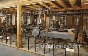 Washington, DC, USA Pre 1850 Machine Shop, Smithsonian Institution