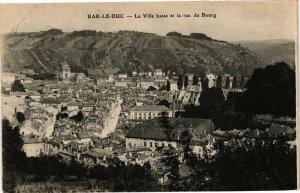 CPA Bar le Duc-La Ville base et la rue du Bourg (184117)