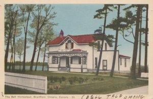 BRANTFORD , Ontario , 1930s; The Bell Homestead
