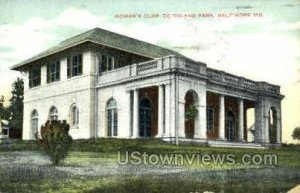 Woman's Club of Roland Park in Baltimore, Maryland