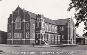 RP; First M. E. Church, FAIRMONT, Minnesota, 1930-1950s