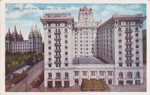 Hotel Utah, Salt Lake City, Utah,  PU-00-10s