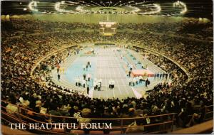 The Forum Los Angeles CA California Track & Field c1972 Postcard F7