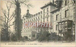 Postcard Old Cars of the Orne Grand Hotel