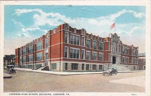 Lebanon High School Building Lebanon Pennsylvania 1931
