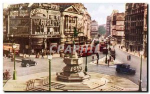 Old Postcard London Piccadilly Circus