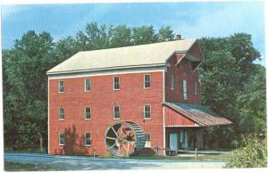 Historic Old Water Power Mill Carroll County Indiana IN