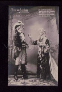 074393 Minna von Barnhe DRAMA Theatre STARS Vintage PHOTO PC 1
