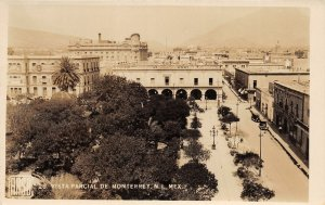F55/ Monterrey N.L. Mexico Foreign RPPC Postcard c30s Vista Parcial
