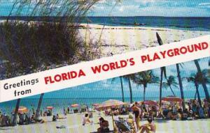 Florida Greetings From Florida Worlds Playground