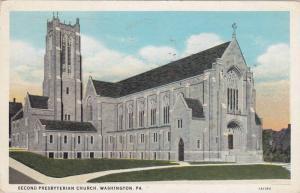 Second Presbyterian Church, Washington, Pennsylvania, PU-1934