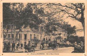 Ecole Henri Riviere Haiphong Vietnam, Viet Nam Unused