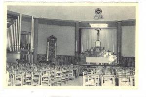 Exposition Bruxelles 1935, Interleur de l'Eglise St. Paul, Palais de la Vie C...