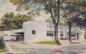 Alabama Dothan Greyhound Bus Station sk6874