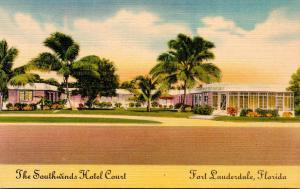 Florida Fort Lauderdale The Southwinds Hotel Court