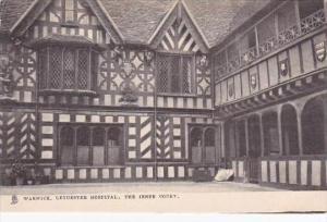 England Warwick Leycester Hospital The Inner Court Tuck