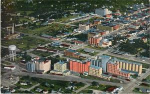 Air View of Flour Mills & Salina Kansas KS