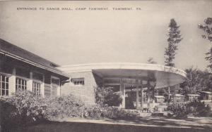 Entrance To Dance Hall Camp Tamiment Tamiment Pennsylvania Artvue