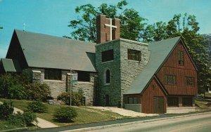 Milford, New Hampshire, NH, Episcopal Church, Chrome Vintage Postcard g8517