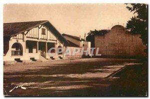 Old Postcard Guethary B P The Mayor and Pediment Pelota