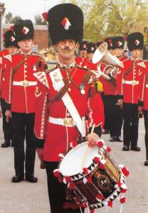 Postcard Royal Regiment of Fusiliers St Georges Day Parade Canterbury 1990 PH2-6