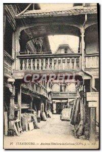 Postcard Old Strasbourg Hotellerie Old Crow