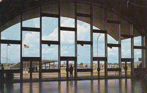 Main Entrance Of Atlanta's Beautiful New Air Transportation Atlanta Georgia 1969