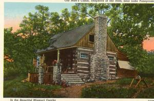 MO - Lake Taneycomo, Old Matt's Cabin, Shepherd of the Hills