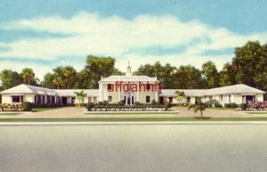 MT. VERNON MOTOR LODGES Ridgewood Avenue DAYTONA BEACH, FL. 1953