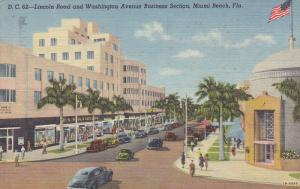 Lincoln Road, Classic Cars, Exclusive Shopping Center, F.W. Woolworth Co., St...