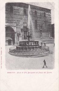 Perugia, Italy , 00-10s ; Fonte di Fra Bevignate col fianco del Duomo